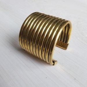 Solid brass cuff sample sale